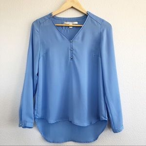 Lauren Conrad Periwinkle Blue Long Sleeve Top Sm